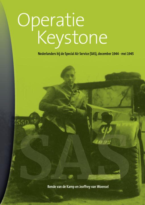 Operatie Keystone. Nederlanders bij de Special Air Service (SAS), december 1944 - mei 1945 - QV Uitgeverij
